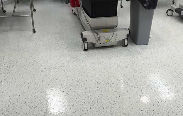 Hospital & Medical Facility Flooring Installation